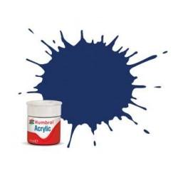 Humbrol barva akryl AB0015 - No 15 Midnight Blue - Gloss - 12ml