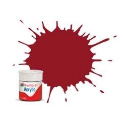 Humbrol barva akryl AB0020 - No 20 Crimson - Gloss - 12ml