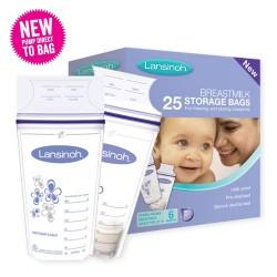 Lansinoh sáčky na skladování mateřského mléka 25ks