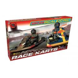 Autodráha MICRO SCALEXTRIC G1120 - Race Karts (1:64)