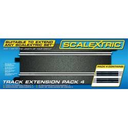 Rozšíření trati SCALEXTRIC C8526 - Track Extension Pack 4 - Straights