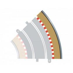 Rozšíření trati SCALEXTRIC C8228 - Radius 2 Outer Border/Barrier 45°