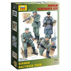 Model Kit figurky 3585 - German Halftrack Crew (1:35)