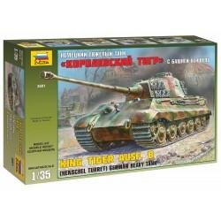 Model Kit tank 3601 - Kingtiger Henschel (1:35)