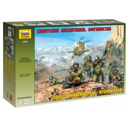 Model Kit figurky 3619 - Soviet Paratroops Afghanistan (1:35)