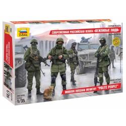 Model Kit figurky 3665 - Modern Russian Infantry (1:35)