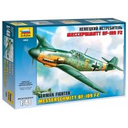 Model Kit lietadlo 4802 - Bf-109 F2 (1:48)