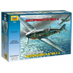Model Kit letadlo 4806 - Messerschmitt Bf-109 F4 (1:48)