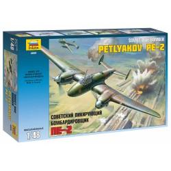 Model Kit lietadlo 4809 - Petlyakov Pe-2 (1:48)