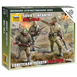 Wargames (WWII) figurky 6103 - Soviet Infantry 1941 (1:72)