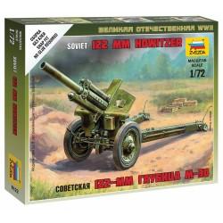 Wargames (WWII) military 6122 - Soviet M-30 Howitzer (1:72)